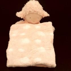 peluche mouton et son plaid