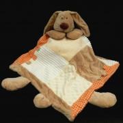 grand doudou  couverture tête de lapin